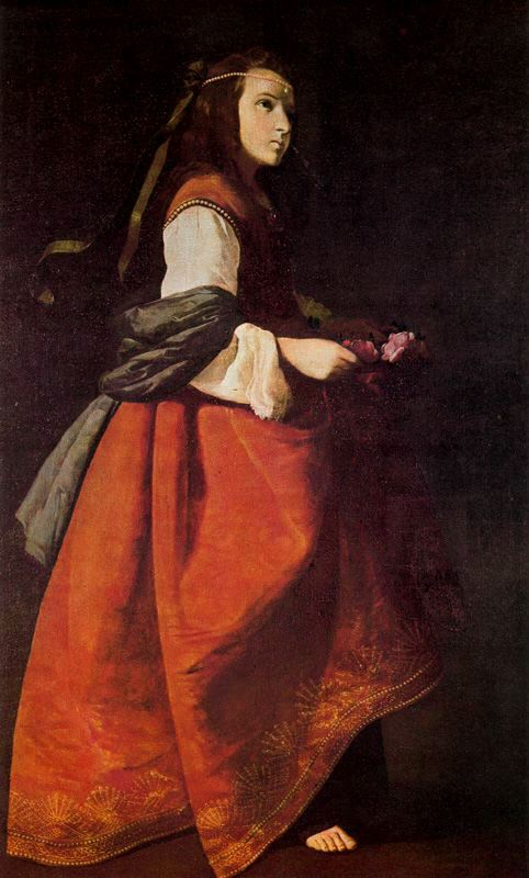 one of Zurbarans Casildas