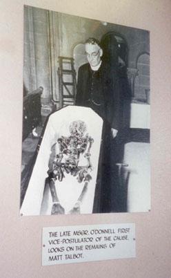 talbot matt in coffin