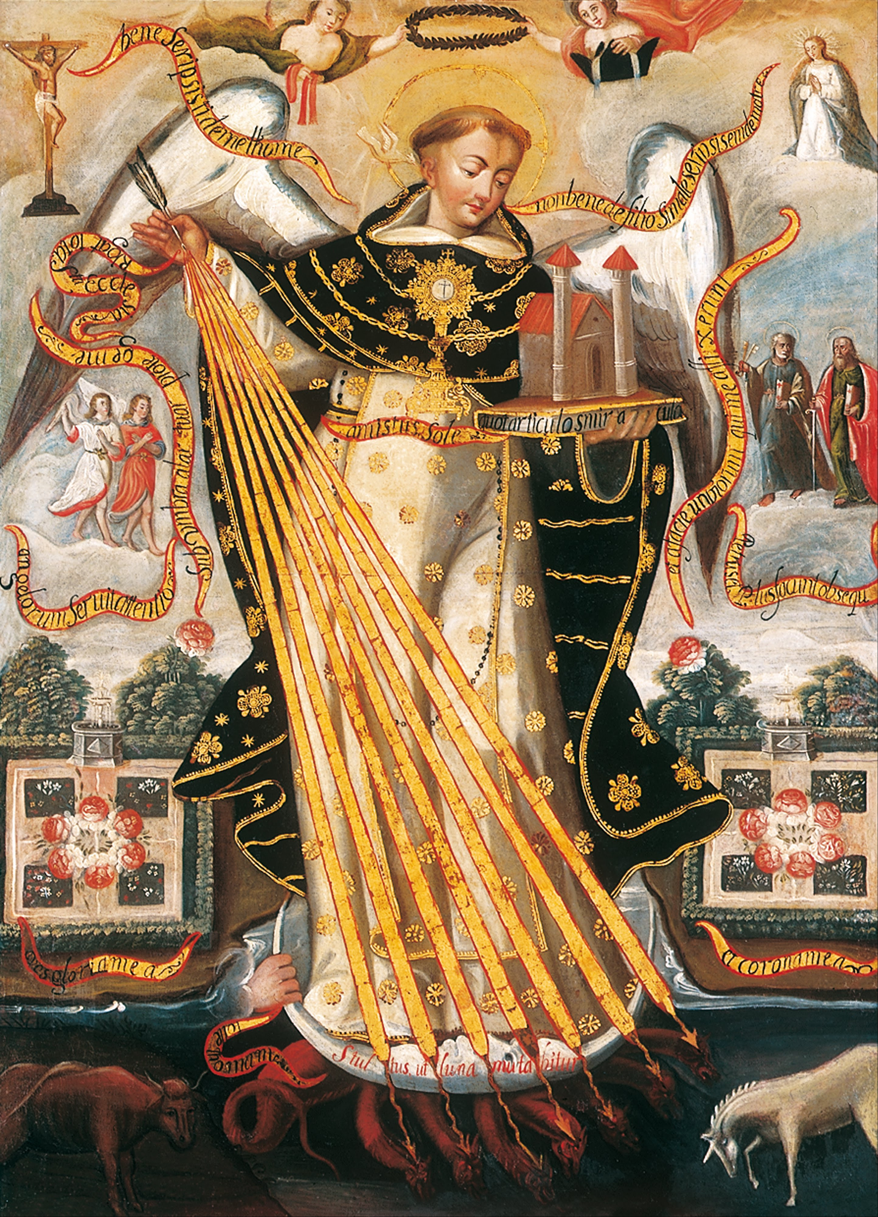Anonymous_Cusco_School_-_Saint_Thomas_Aquinas,_Protector_of_the_University_of_Cusco_-_Google_Art_Project