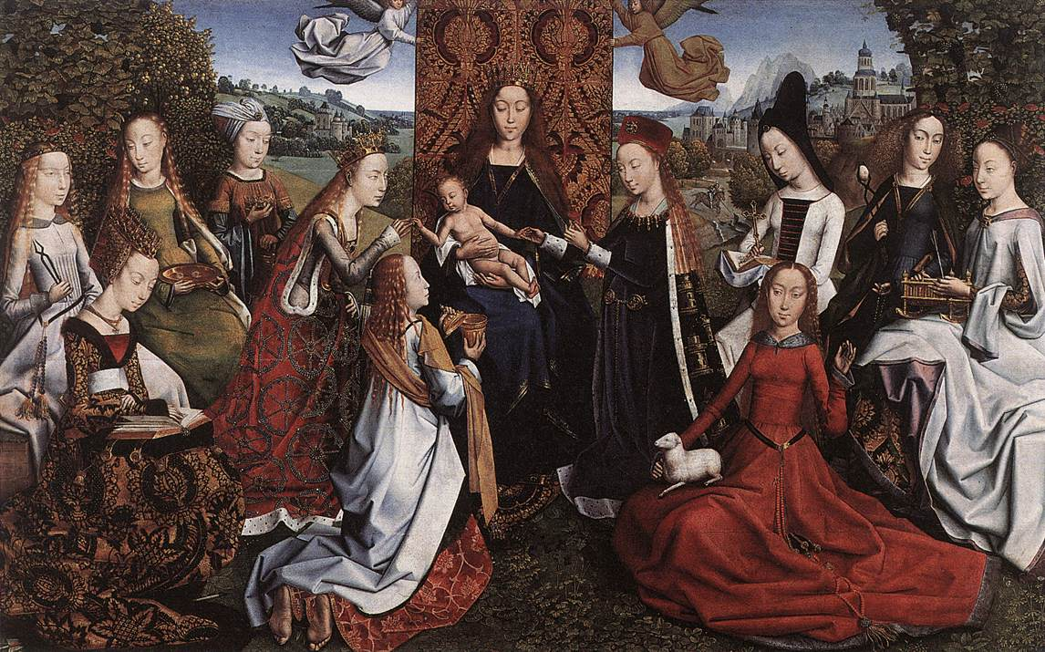 master-of-the-saint-lucy-legend-virgin-surrounded-by-female-saints