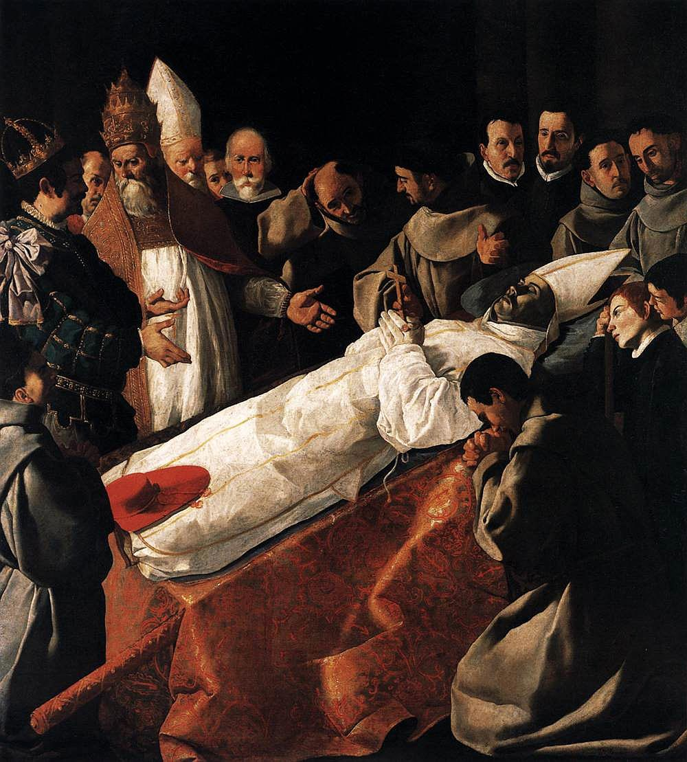 Zurbaran_Death_of_St_Bonaventure