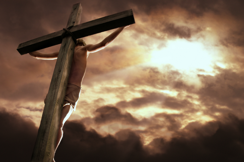 God's mercy jesus-on-cross