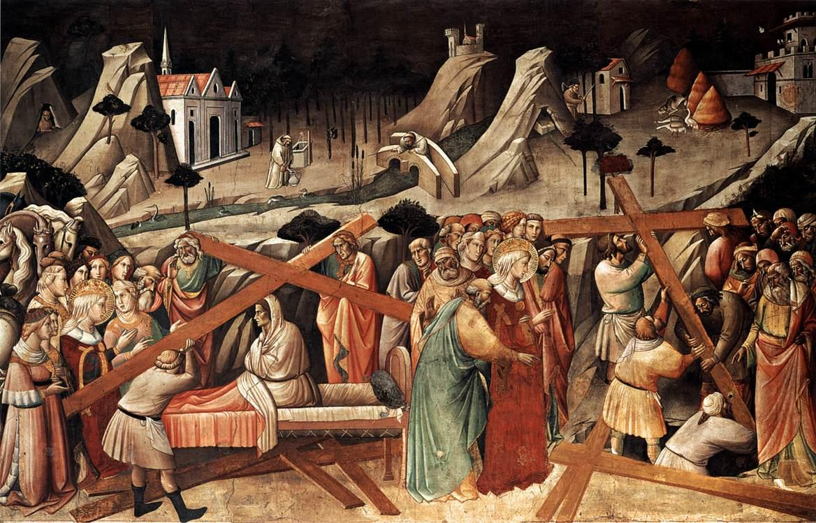 Agnolo_Gaddi_-_Discovery_of_the_True_Cross_-_WGA08367