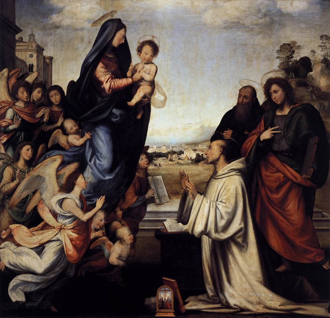 Fra_bartolomeo_02_Vision_of_St_Bernard_with_Sts_Benedict_and_John_the_Evangelist