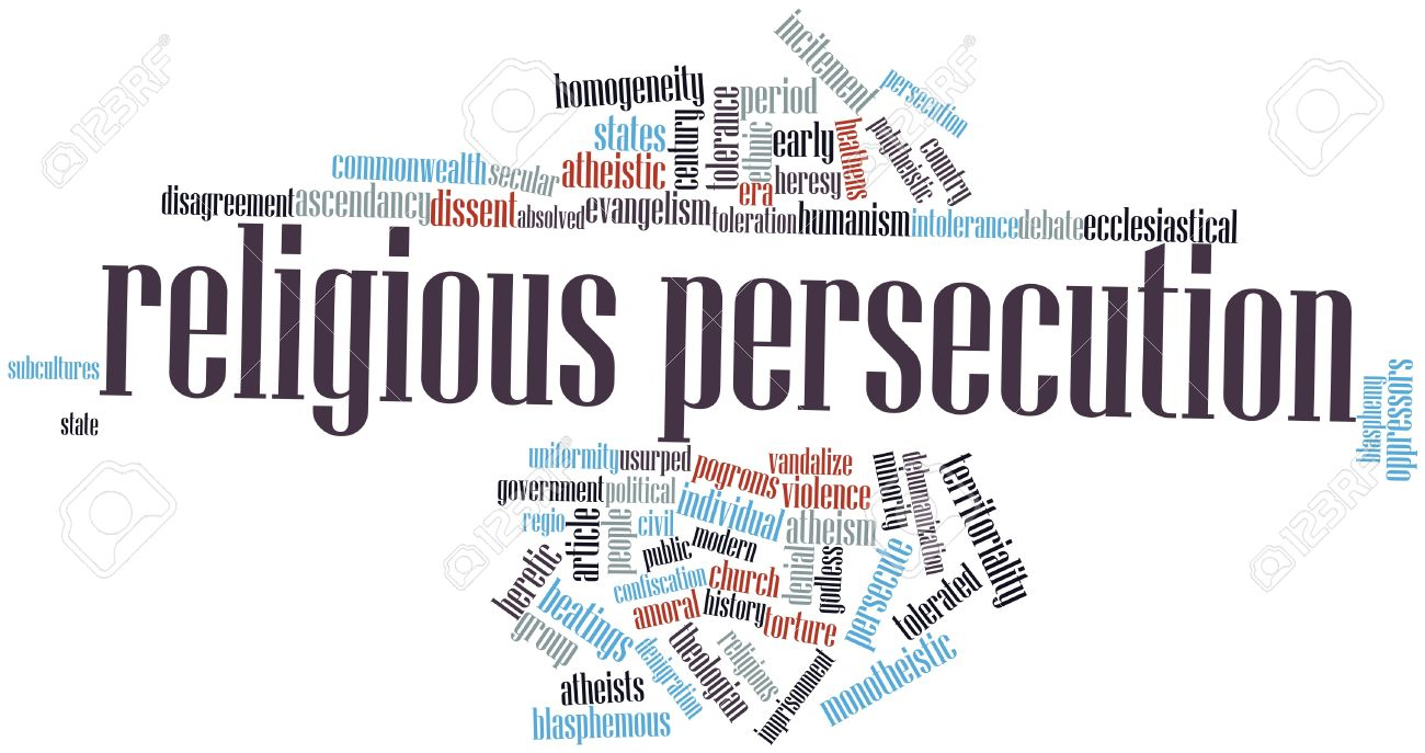 16627957-Abstract-word-cloud-for-Religious-persecution-with-related-tags-and-terms-Stock-Photo