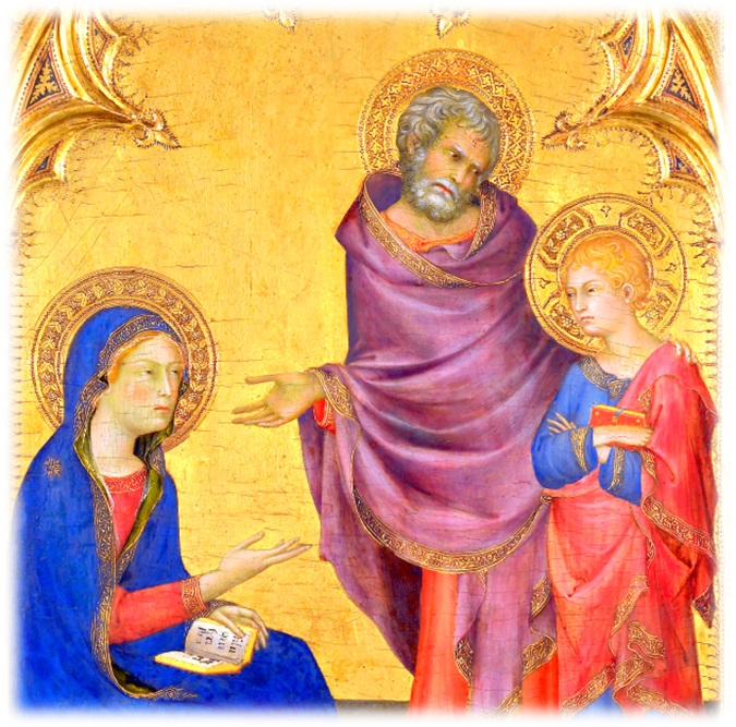 Christ Discovered in the Temple Simone Martini, 1342, Italy