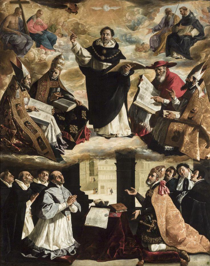 apotheosis of saint thomas aquinas zurbaran